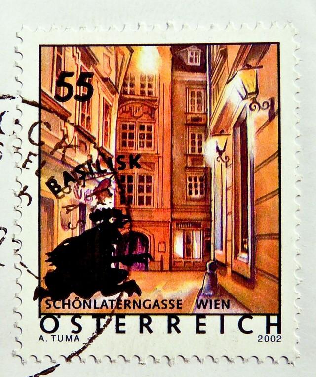 Переулок Красивого фонаря (Schönlaterngasse)