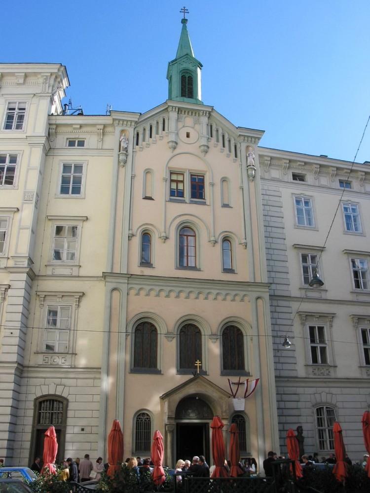 Церковь Святой Великомученицы Варвары - старейший греко-католический храм Австрии