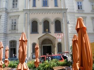 Церковь Святой Великомученицы Варвары — первопрестольный греко-католический молельня Австрии