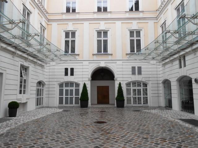 Второй внутренний дворик
