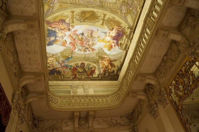 Потолочные фрески в стиле барокко