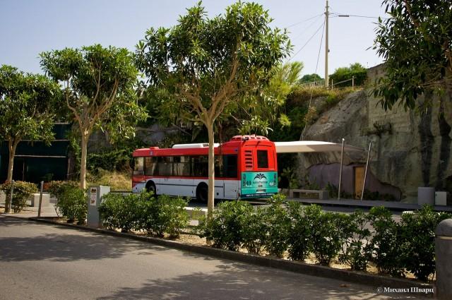 Автобус номер 2 домчал нас до источников