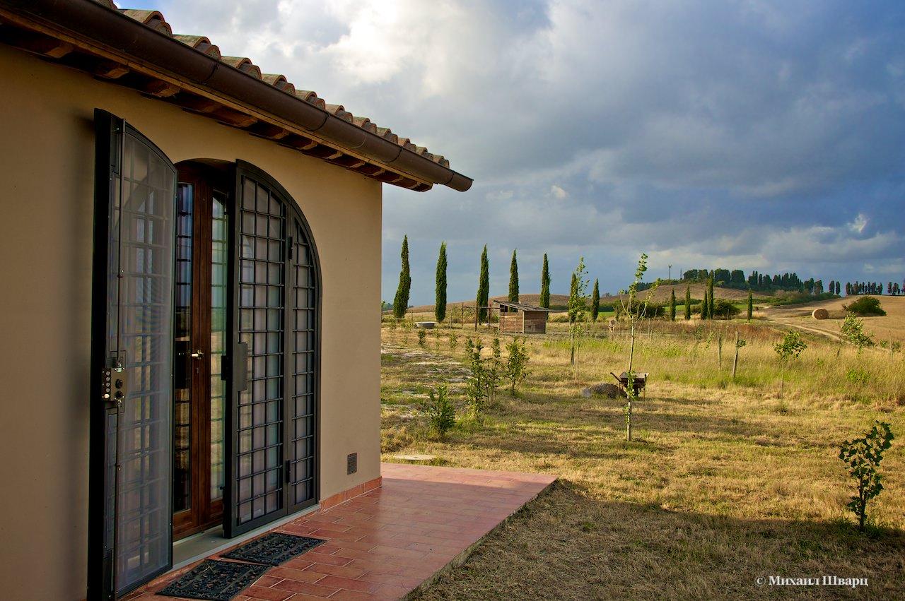 Деревенский домик в Тоскане (Италия)