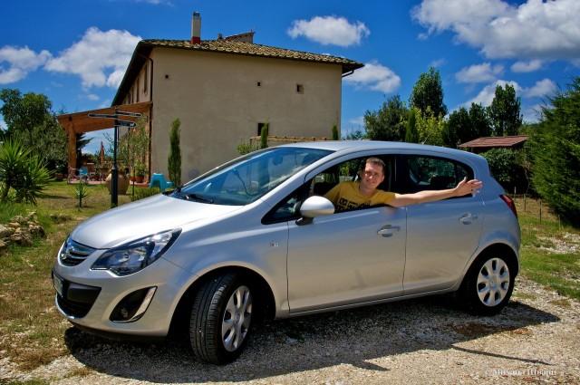 Наш Opel Corsa за €27