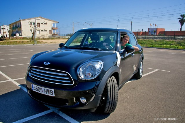 Арендовал Mini Cooper в Барселоне всего за €7!