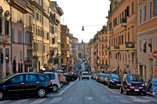 Вечерние улицы Рима