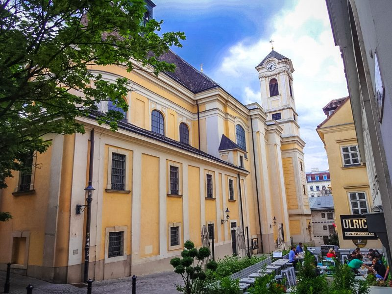 Церковь Святого Ульриха - главная достопримечательность Шпиттельберга