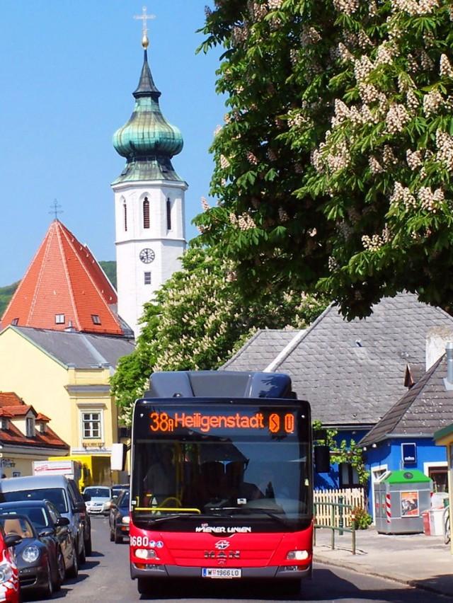 До Гринцинга можно доехать самостоятельно на автобусе