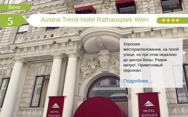 Отель Austria Trend Hotel Rathauspark Wien