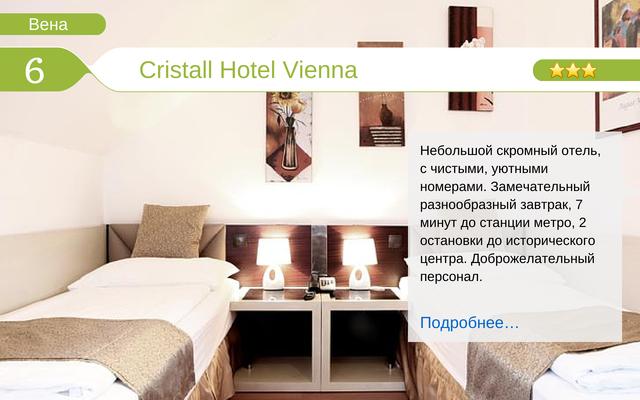 Отель Cristall Hotel Vienna