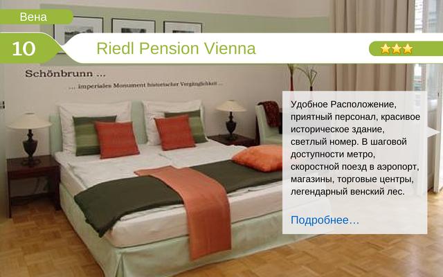 Отель Riedl Pension Vienna