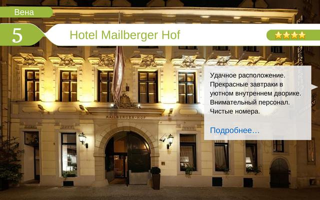 Отель Hotel Mailberger Hof