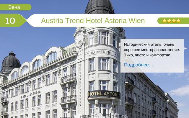 Отель Austria Trend Hotel Astoria Wien