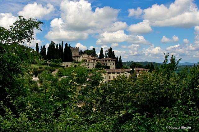 Замок Верраццано (Castello di Verrazzano)