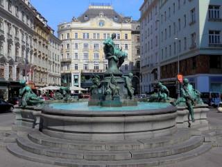 Пять самых красивых венских фонтанов