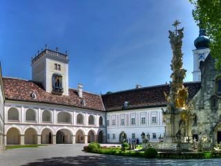 Хайлигенкройц – крупнейший средневековый монастырь