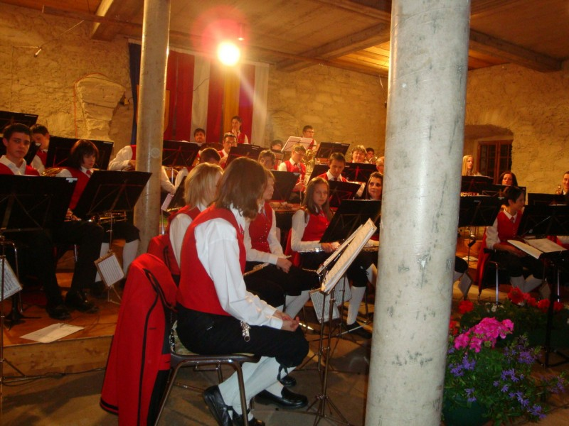 Концерт в Штрасбургском замке
