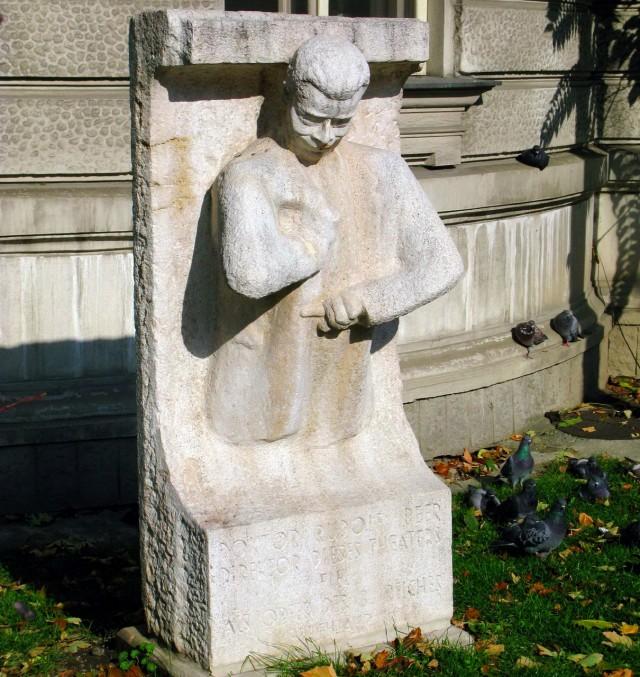 Памятник Rudolf Beer