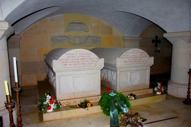 Гробница Франца-Фердинанда и его супруги