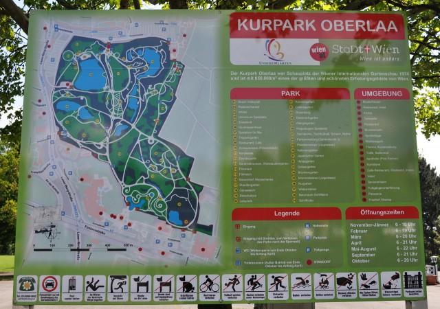 План Курортного парка