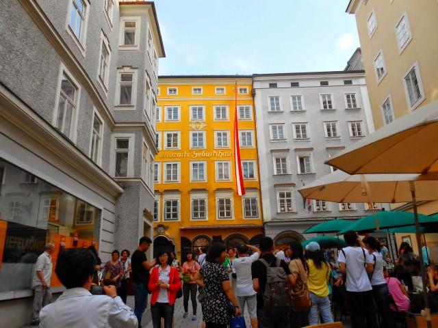 Дом, где родился Моцарт (Mozarts Geburtshaus)