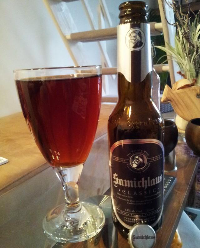 Eggenberg Samichlaus Bier - австрийский доппельбок, крепкое пиво, сваренное без добавления спирта