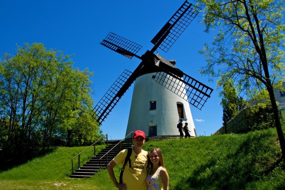 Около ветряной мельницы