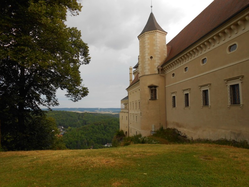 Смотровая площадка около замка