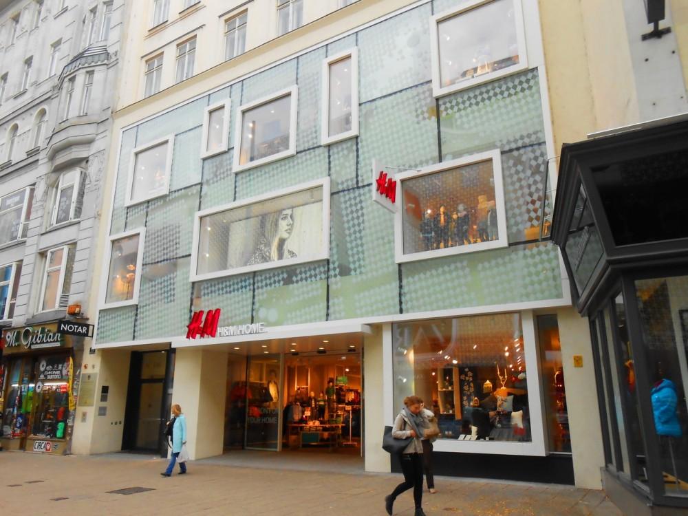 Марияхильфер - знаменитая венская улица магазинов