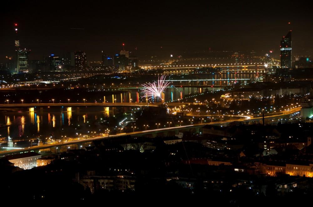 Новый год в австрийской столице
