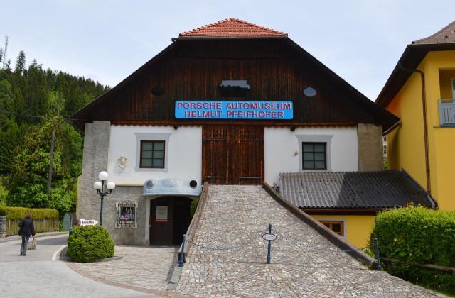 Здание музея Порше