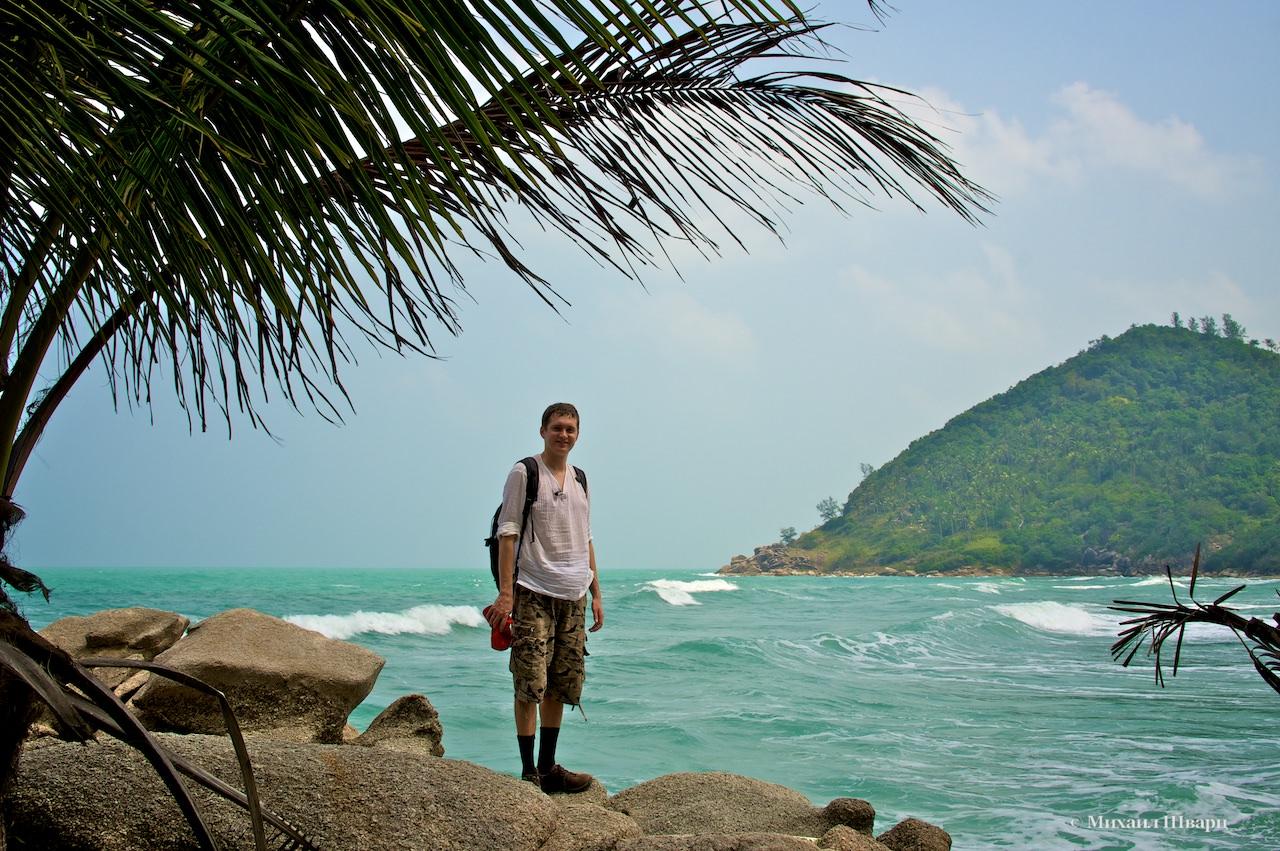 Пляж Bottle Beach на Пангане