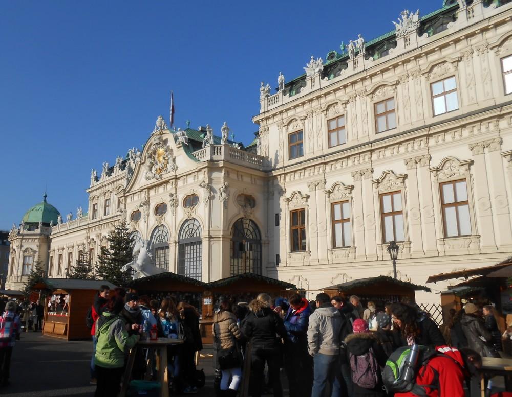 Рождественский базар у Бельведера