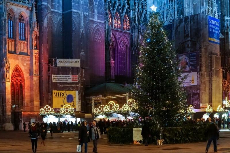 Рождественский базар на площади Штефансплац