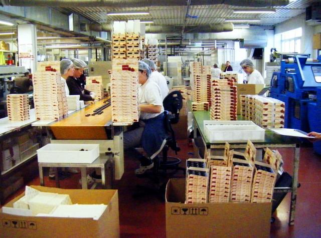 На шоколадной фабрике Хайндл