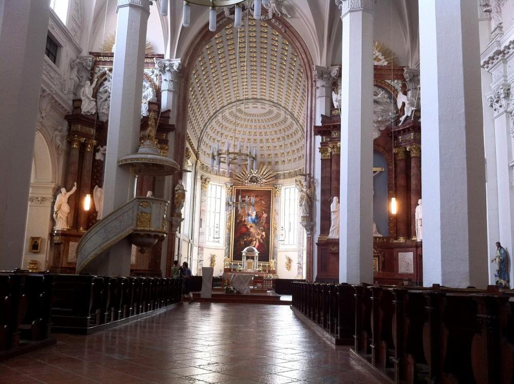 Церковь Девяти ангельских хоров (Kirche zu den neun Chören der Engel)