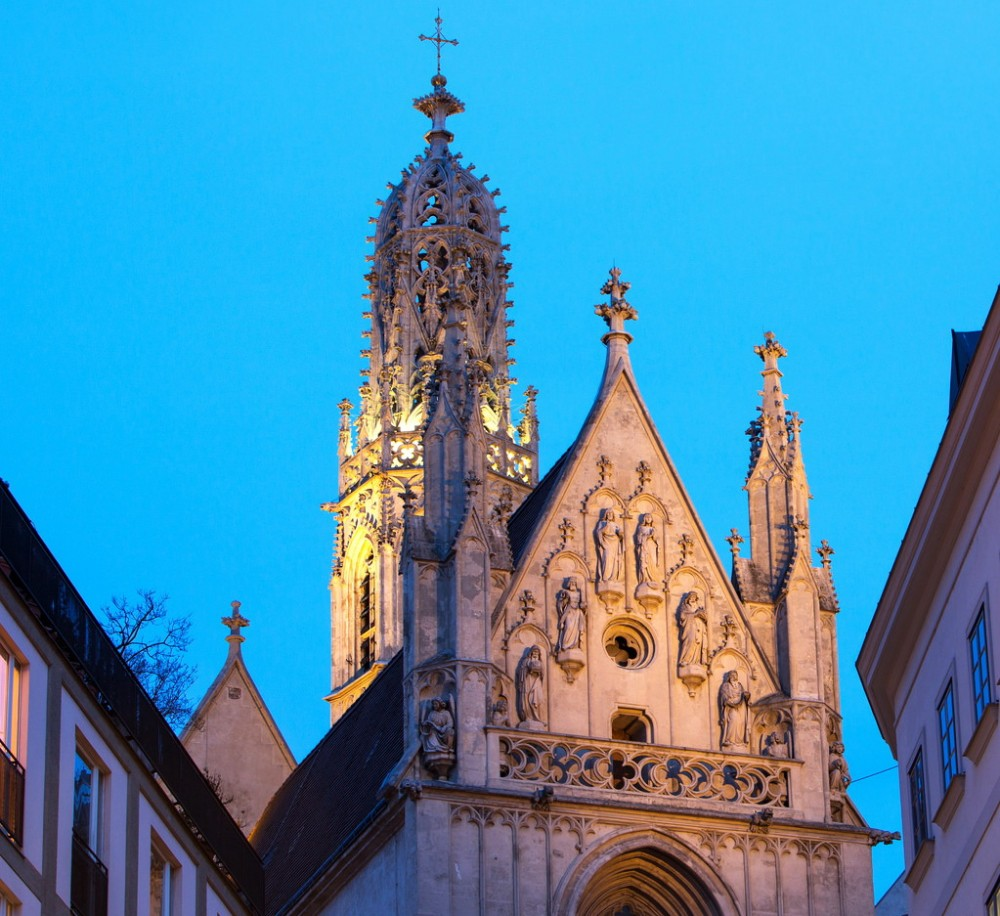 Церковь Мария на берегу (Maria am Gestade)