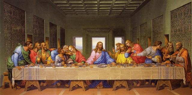 Копия фрески Тайная вечеря в Миноритенкирхе