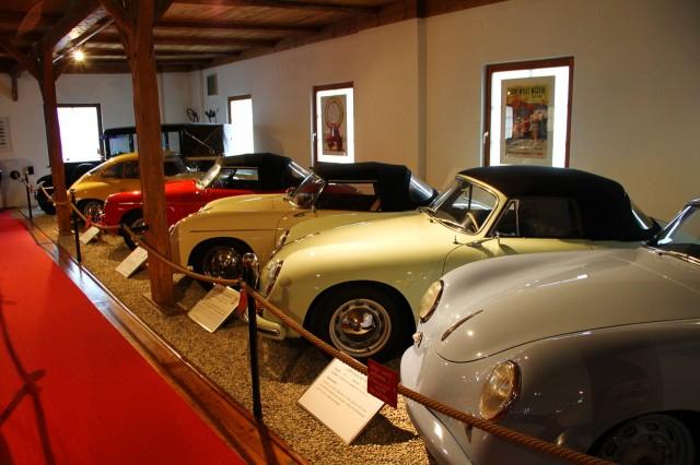 Экспозиция музея Порше