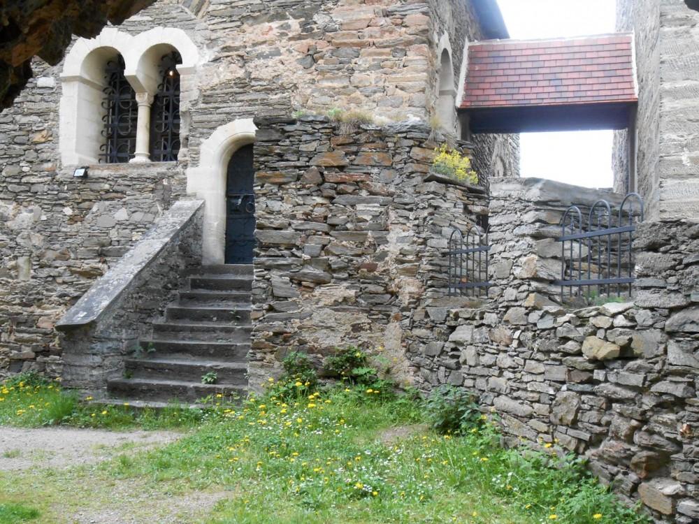 В крепости