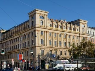 Дворцы держи Рингштрассе