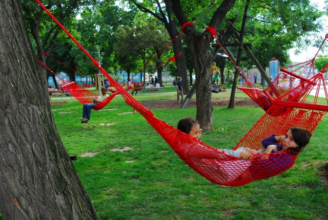 Парк Бруно Крайского (Bruno-Kreisky-Park)