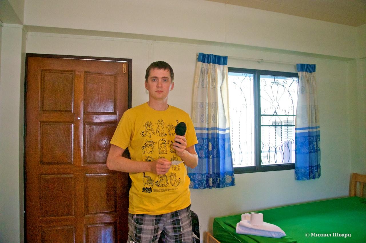 Наш отель в Чиангмае