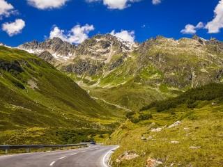 Сильвретта — высокогорная дорога