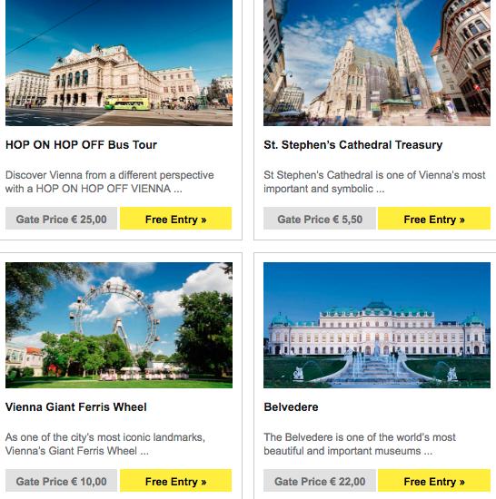 Более 60 лучшие достопримечательностей Вены бесплатно с Vienna PASS