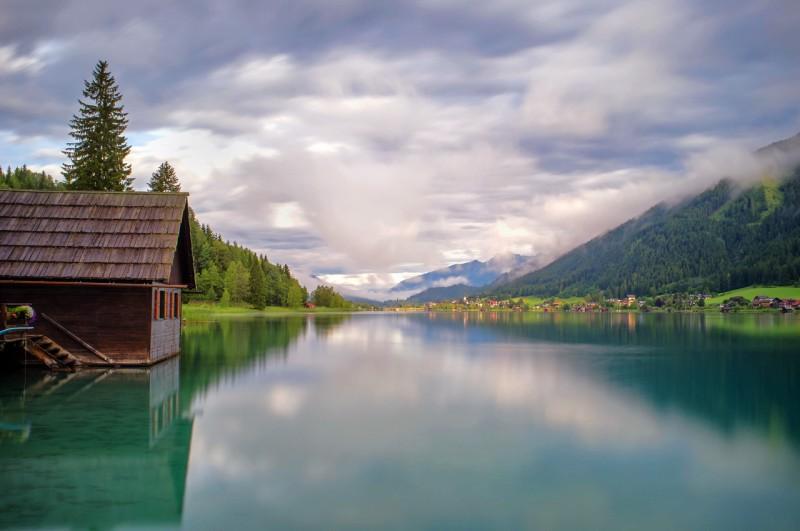 Вайсензее – «Белое озеро» с голубой водой в горах Каринтии