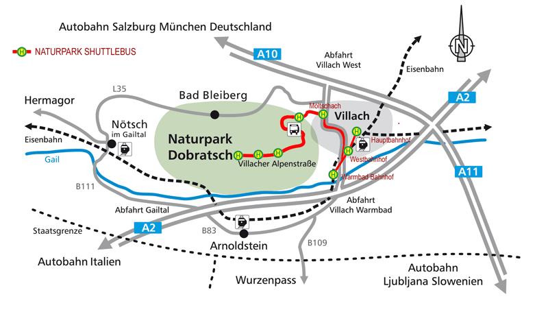 Схема автобуса