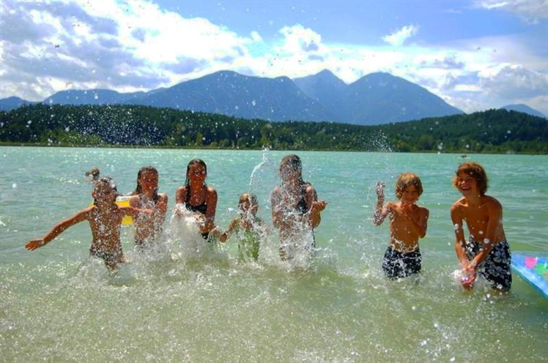 Отдых с детьми на озерах Австрии