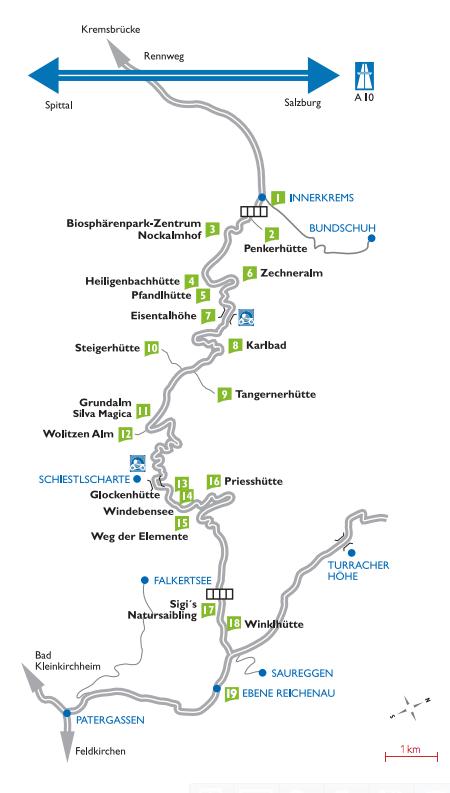 Карта Нокальмштрассе