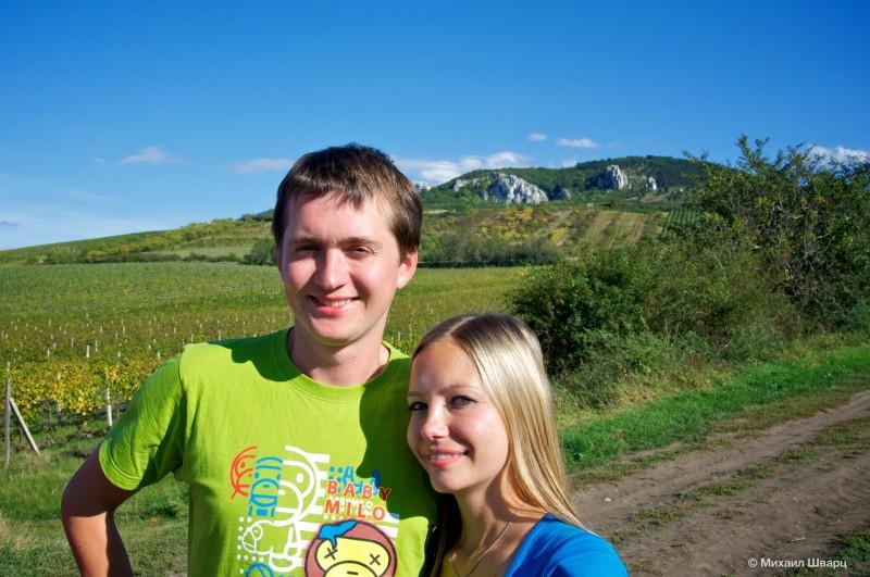 Палавские горы в Моравии